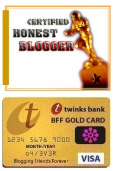 honest blogger bff award